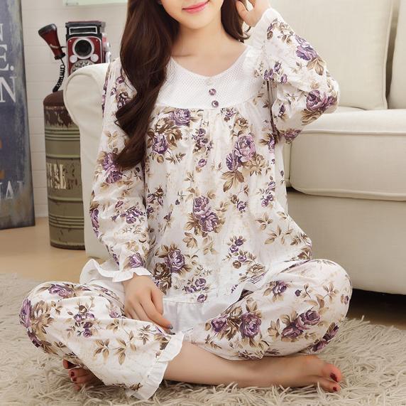 「ルームウェア・パジャマ」花柄キュート上下セット14018760