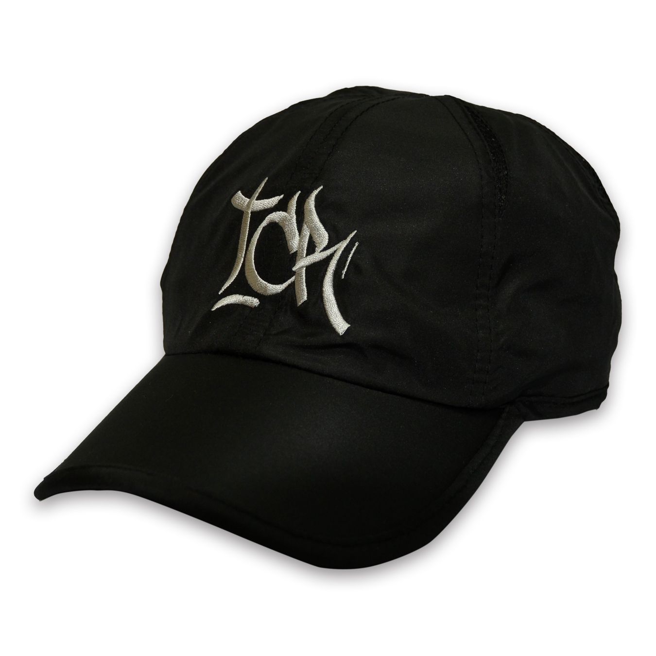 T.C.R BIG LOGO SPORTS SHELL CAP - BLACK/GRAY