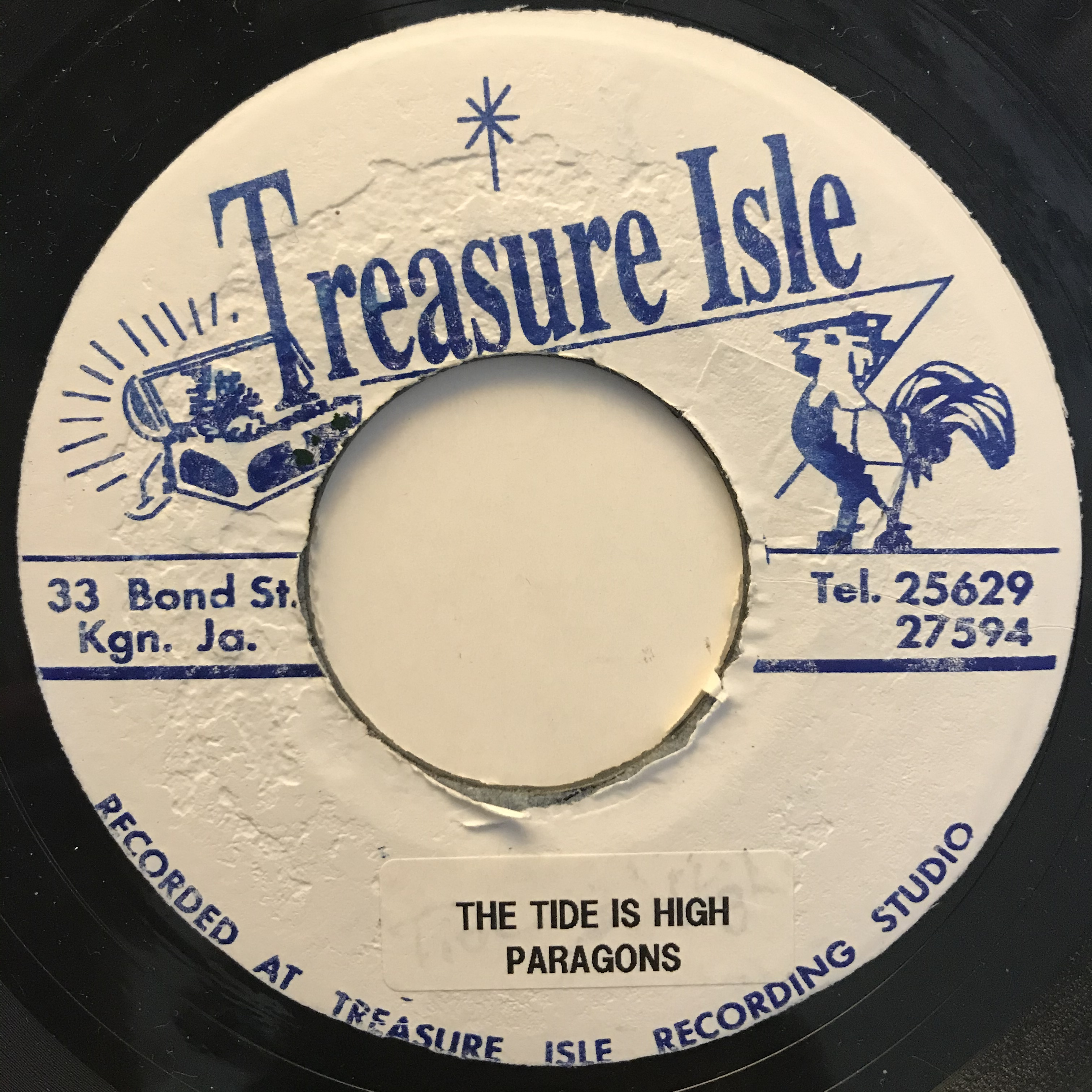 The Paragons(パラゴンズ) - The Tide Is High【7-10808】