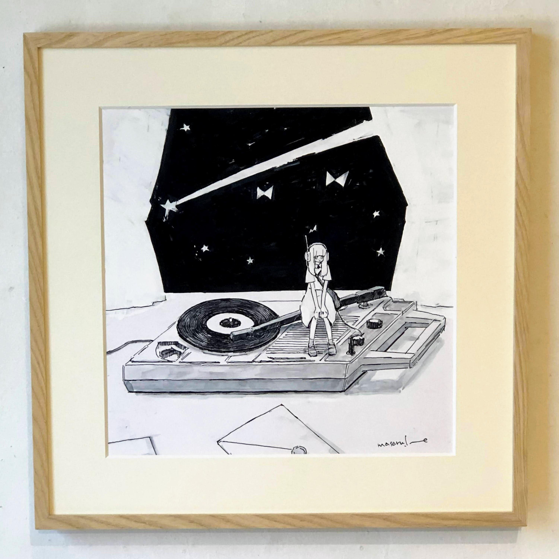 イノウエマサル(井ノ上豪)「お気に入りのレコードはあっという間に終わる」