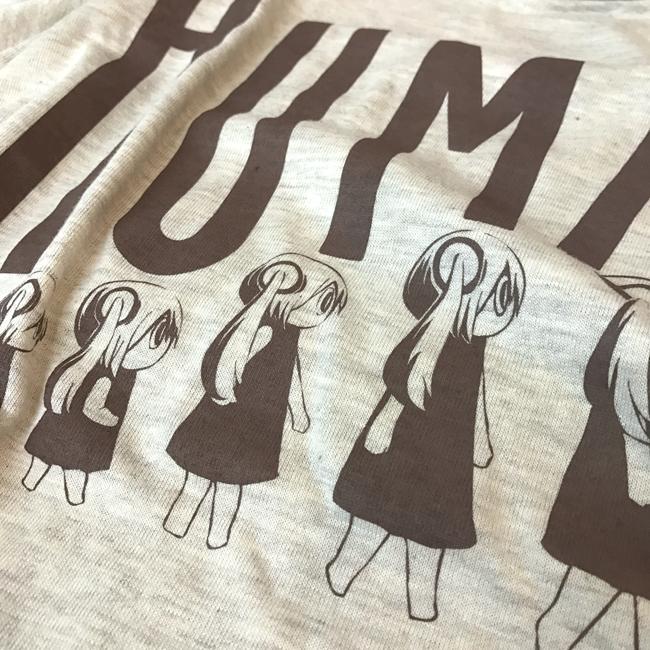 ピノキオピー 人間が着るやつTシャツ(メンズ / オートミール) - 画像3