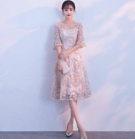 beb4ba219c594 結婚式のお呼ばれ50代 結婚式 お呼ばれドレス パーティードレス 20代 30代 40代 大きいサイズ ワンピース 結婚式二次会