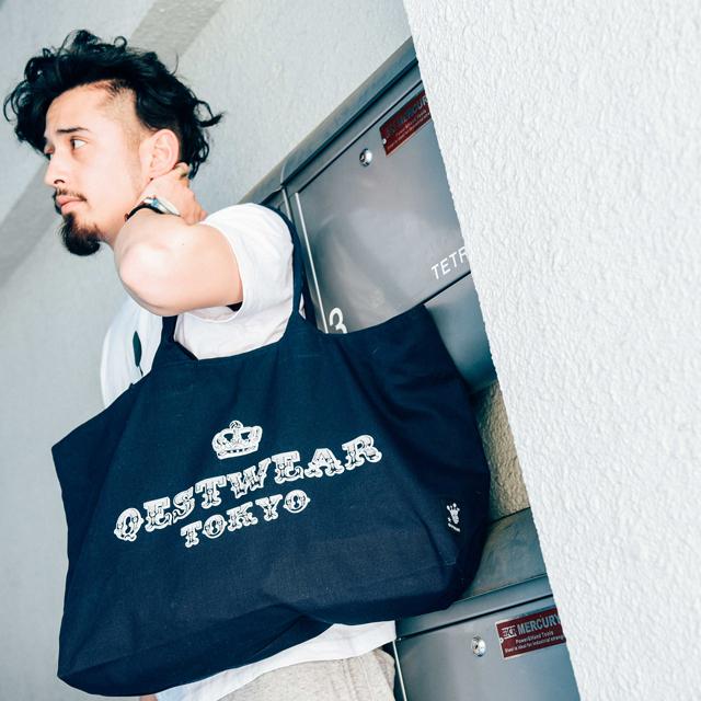 CircusTote Bag / Navy - 画像1