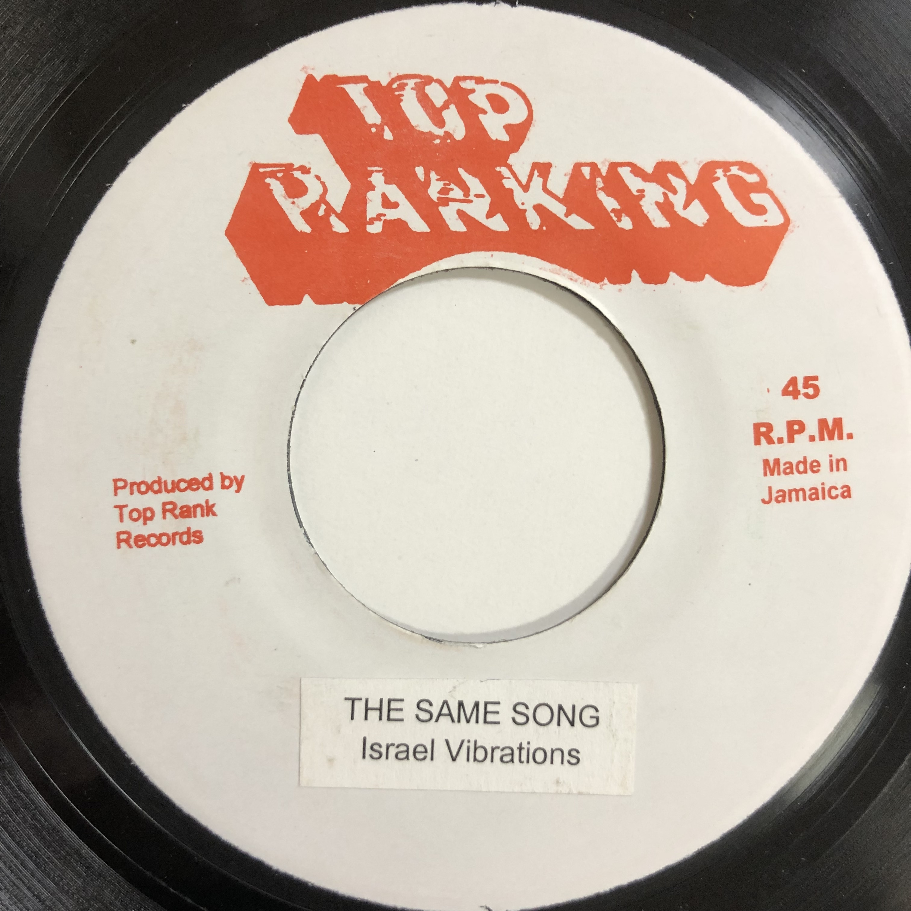 Israel Vibration(イスラエルバイブレーション) - The Same Song【7-20140】