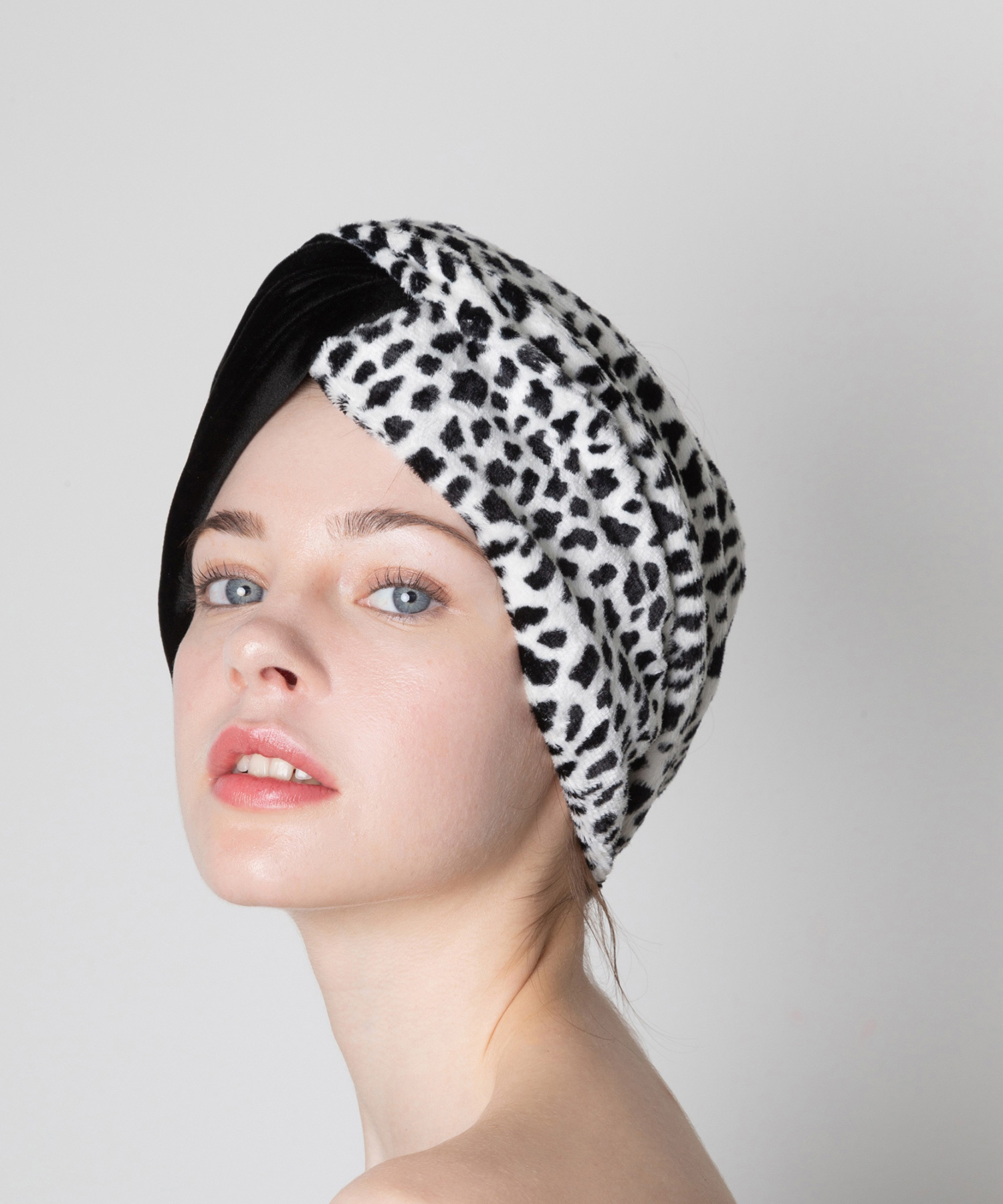 Joe19AW-35 2panel turban (black)