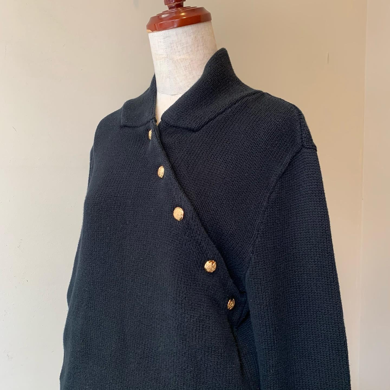 vintage RalphLauren cotton knit sweater