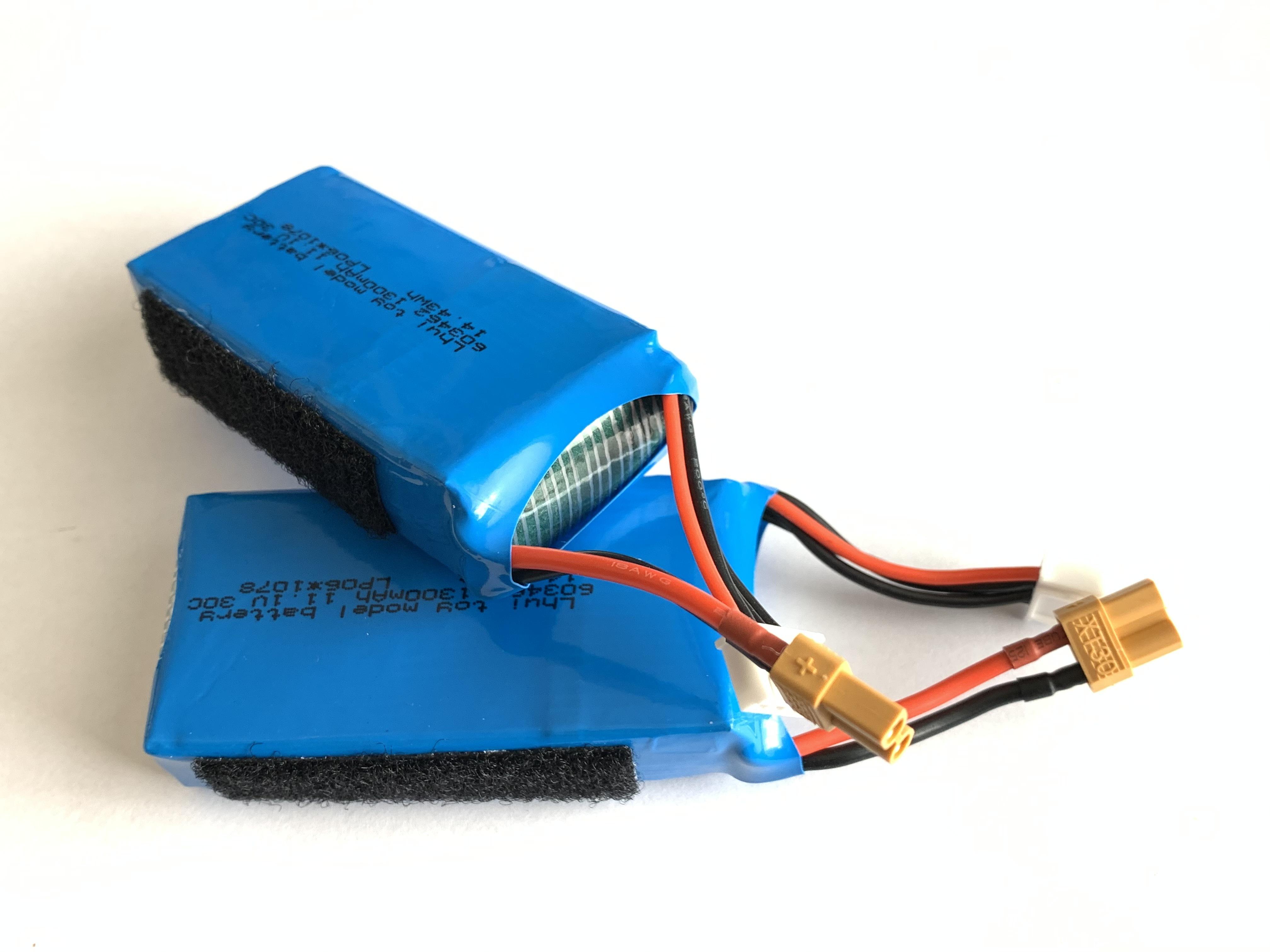 ◆2個セット特価◆XK  X450 互換基板付リポバッテリー  11.1V1300mAh30C  XT30コネクタ