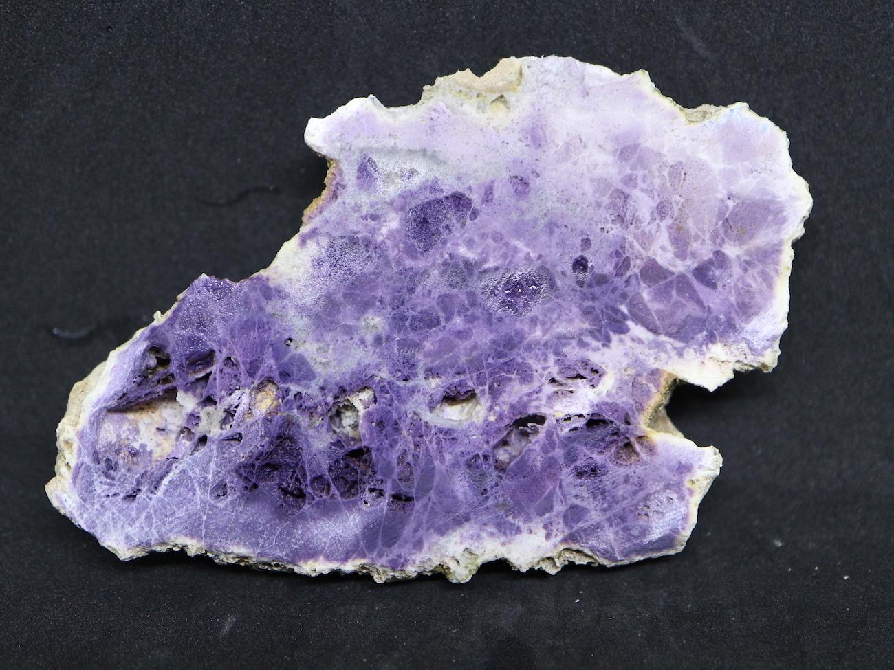超希少!ティファニーストーン スライス  原石 ユタ州産 67,2g 鉱物 TF016