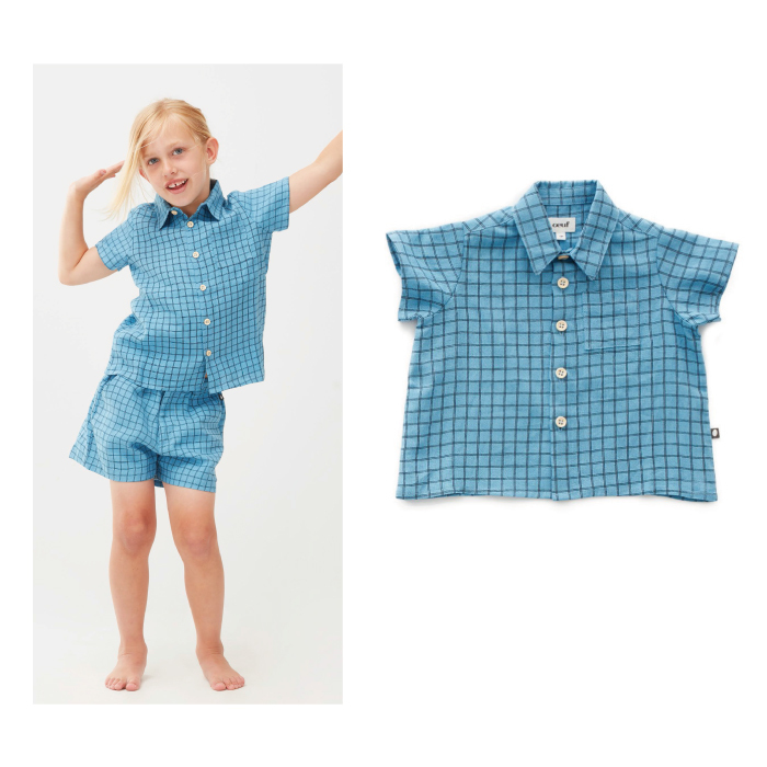 Oeuf button down shire (2Y)
