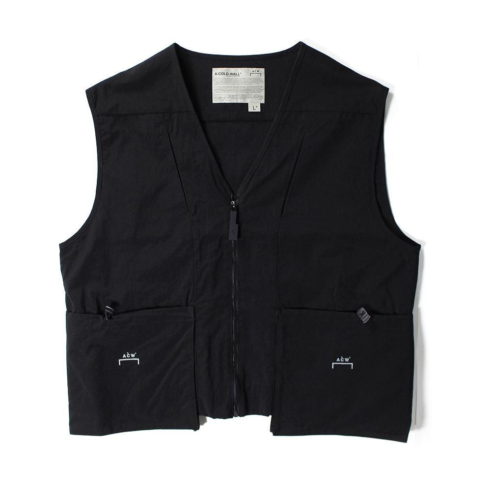 A COLD WALL Pocket Vest Black