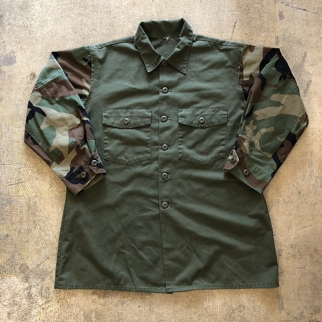 Remake Military Oversized Shirts #MTO-001