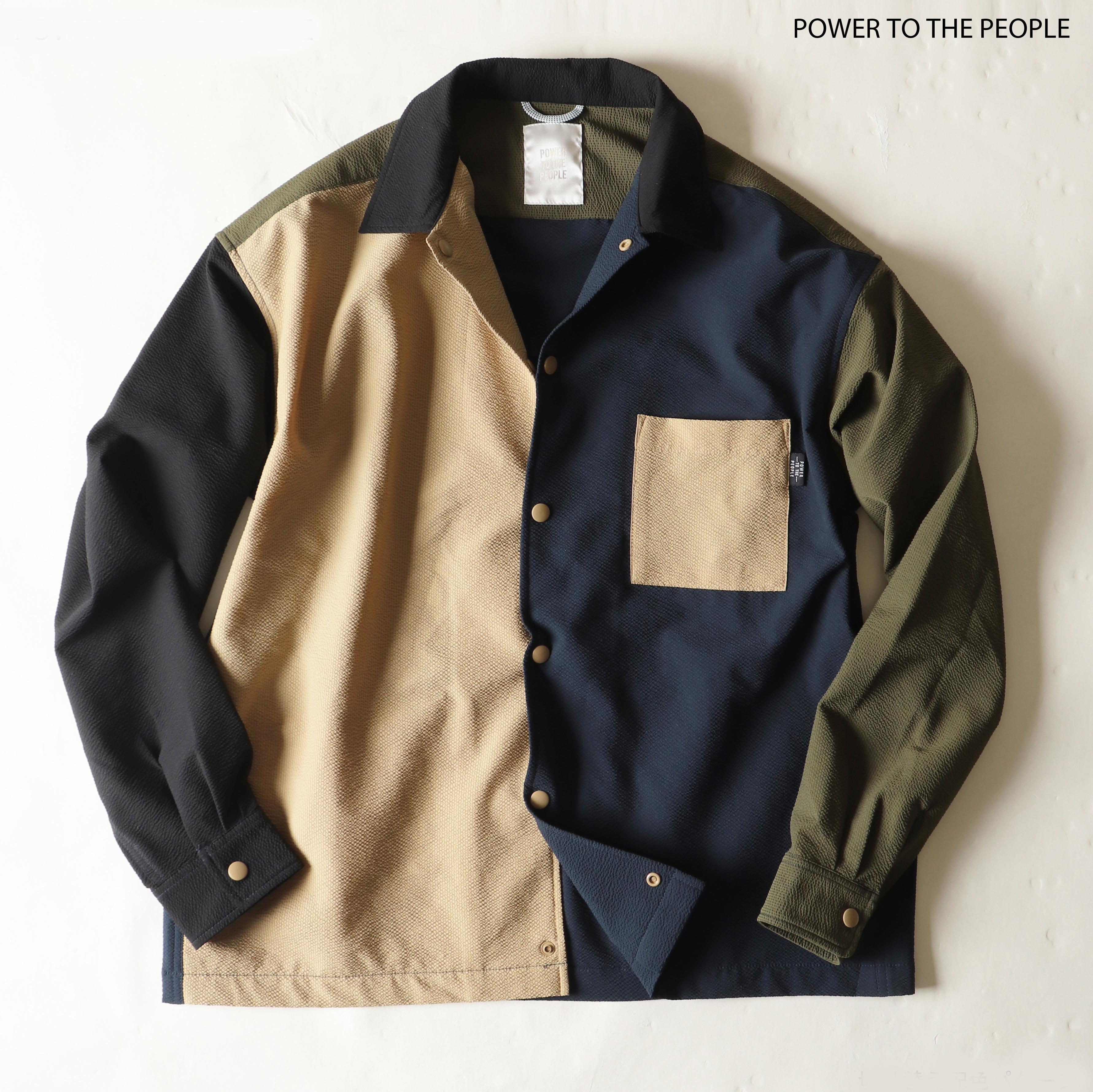 クイックドライ機能素材シャツジャケット NO0512102