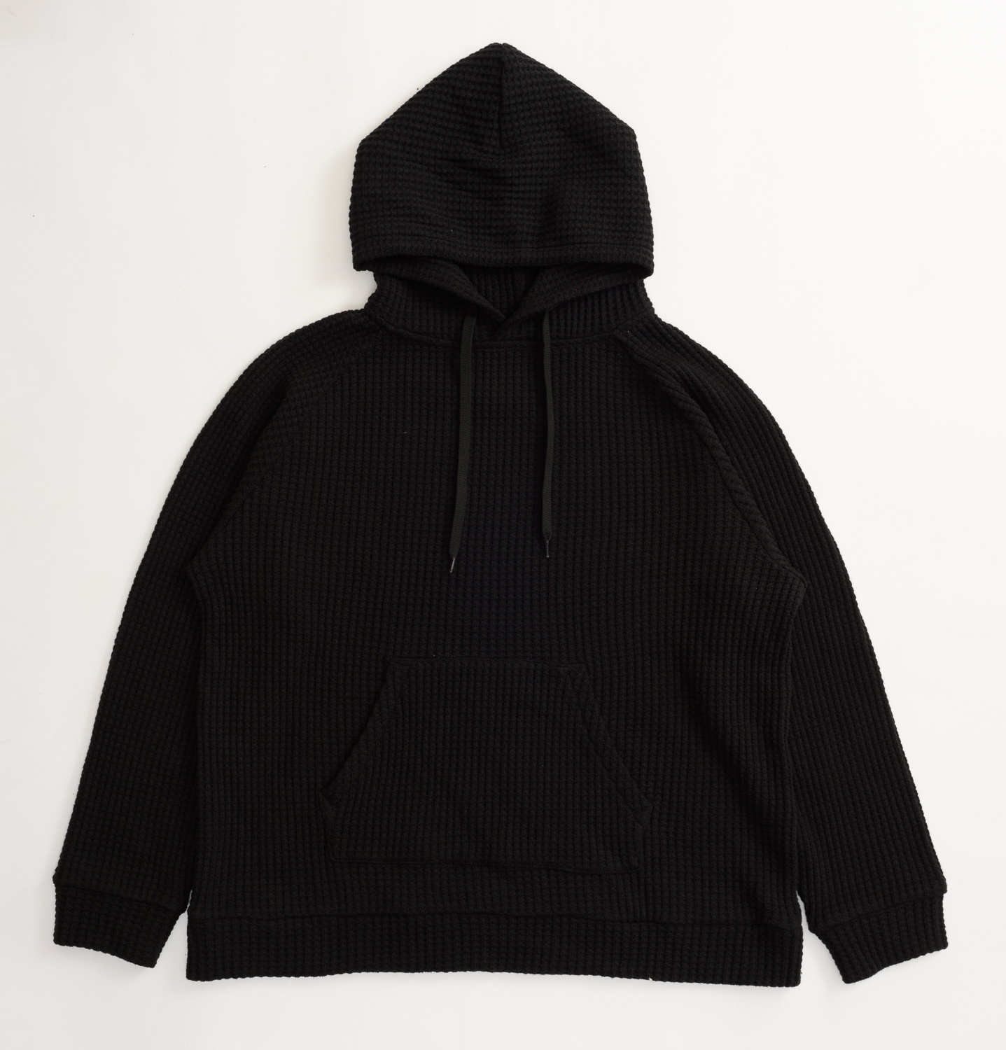 【SON OF THE CHEESE】WAFFLE PARKA(BLACK)