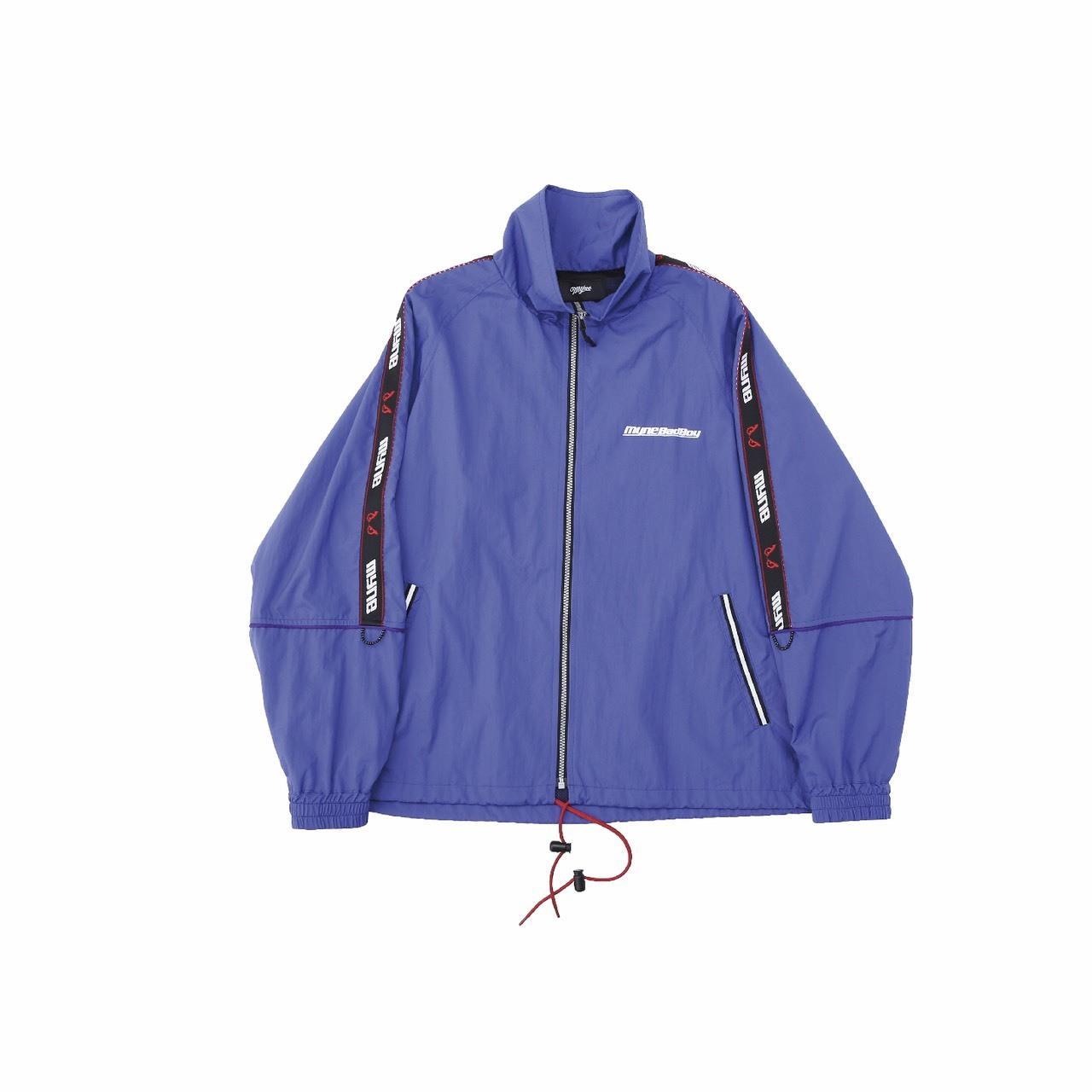MYne × BADBOY Track jacket / BLUE - 画像1