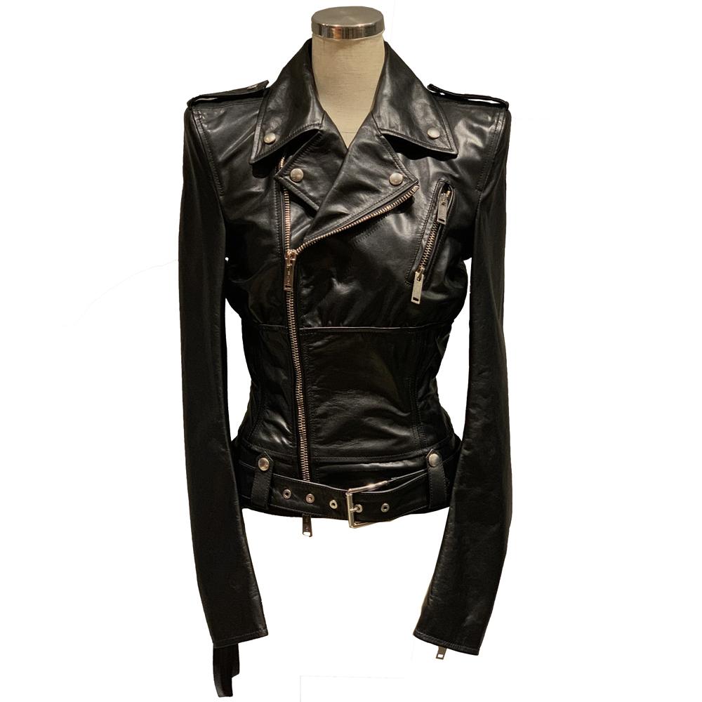 BEN TAVERNITI UNRAVEL Leather Jacket