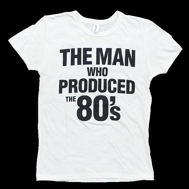 TREVOR HORN 80's Tシャツ(ホワイト / ネイビー) - 画像1