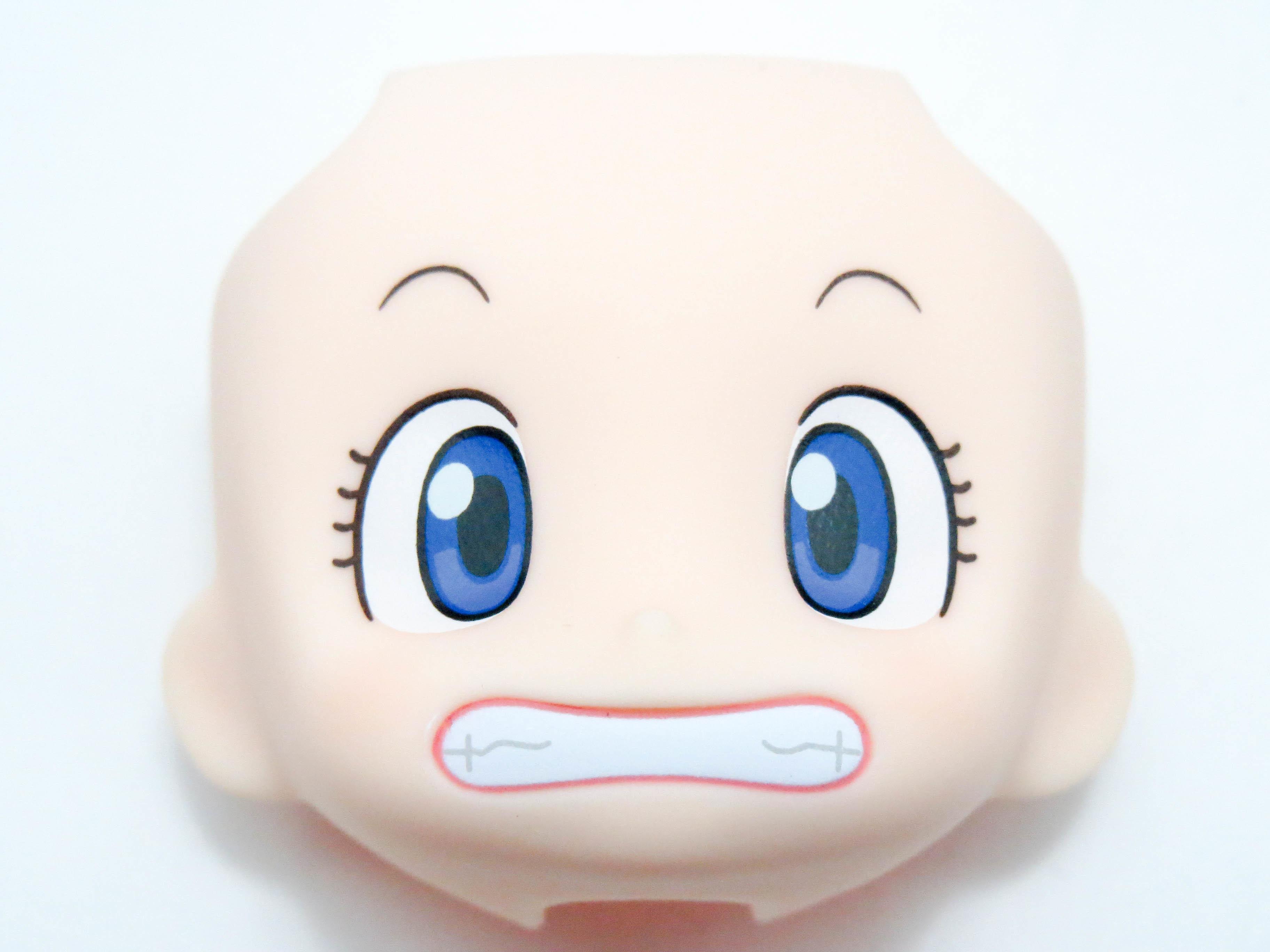 【SALE】【900】 則巻アラレ 顔パーツ キーン顔 ねんどろいど
