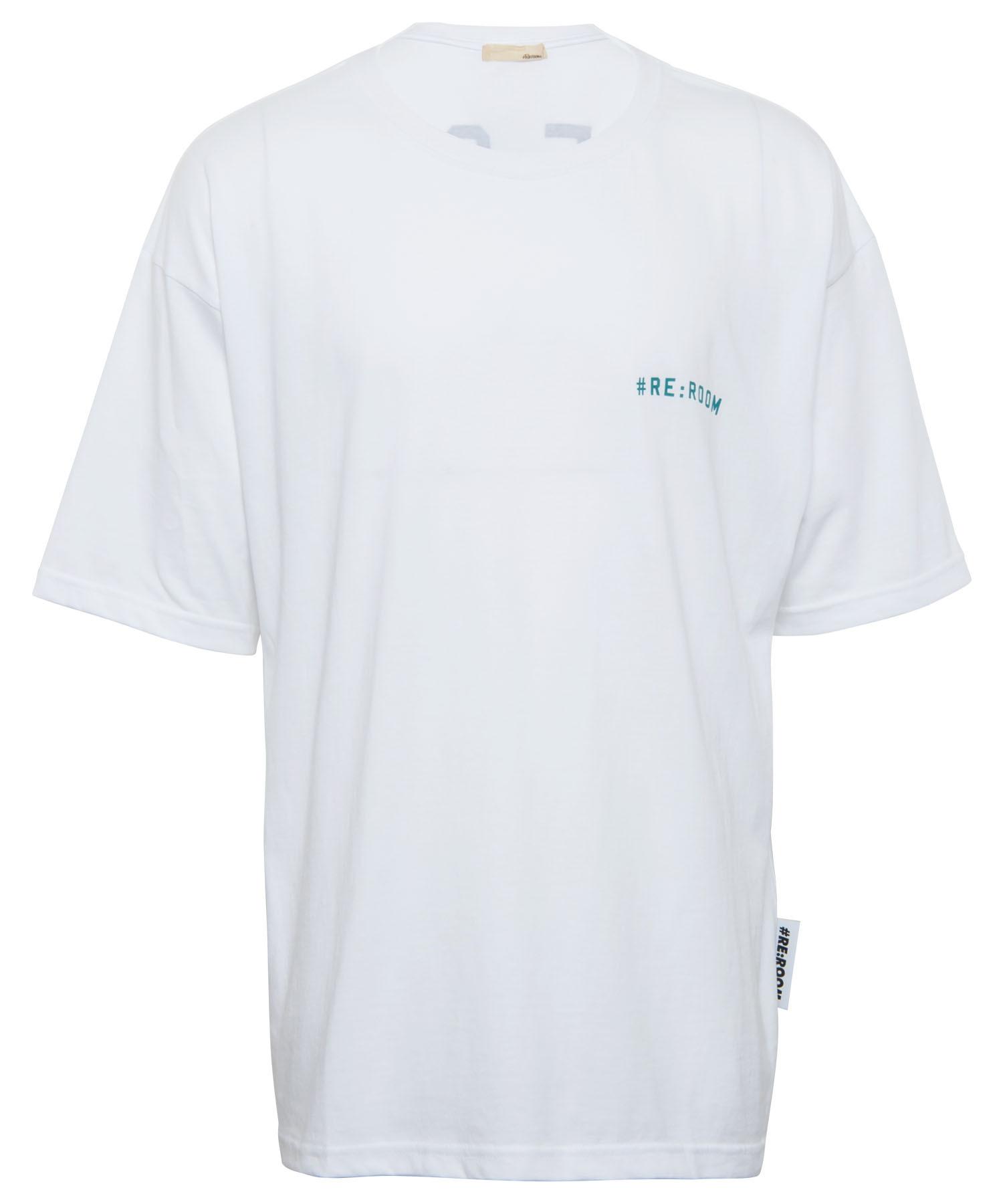 #RE:ROOM CALIFORNIA BIG PRINT T-shirt[REC400]
