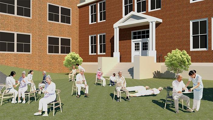 医療人物SketchUp素材10個 4p_set050 - 画像3