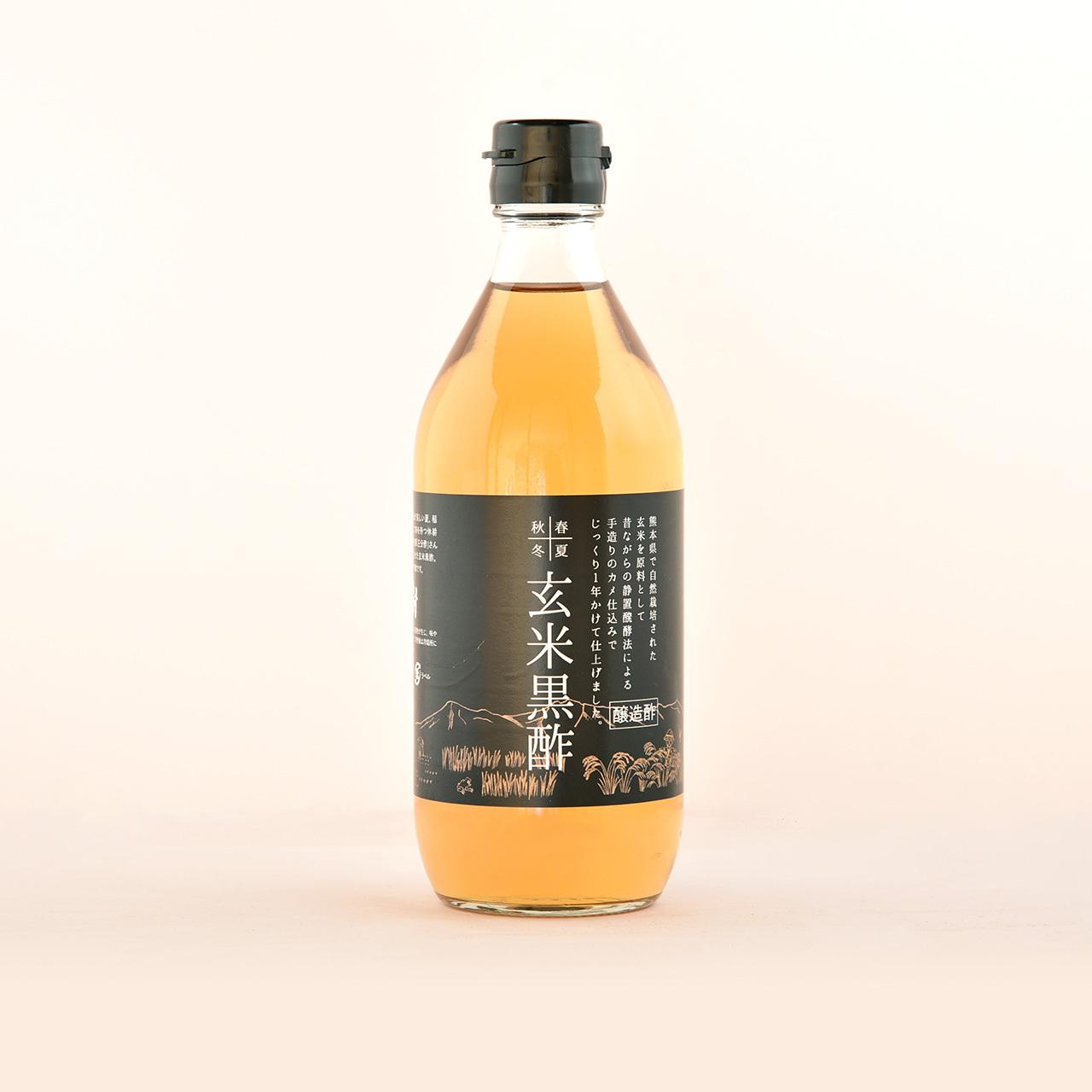 自然派調味料セット~なま醤油・玄米黒酢・純米酢