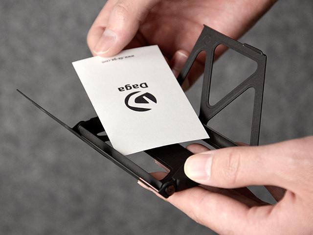 JET-BLACK Titanium Cardcase - 画像3