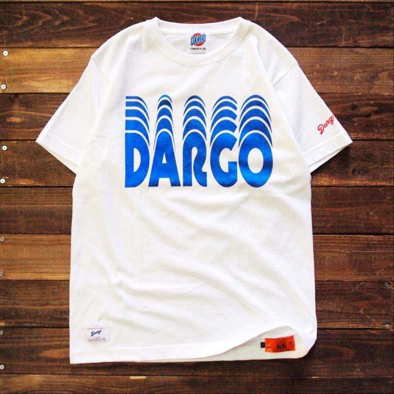 "【DARGO】""Moving Logo"" T-shirt (WHITE)"