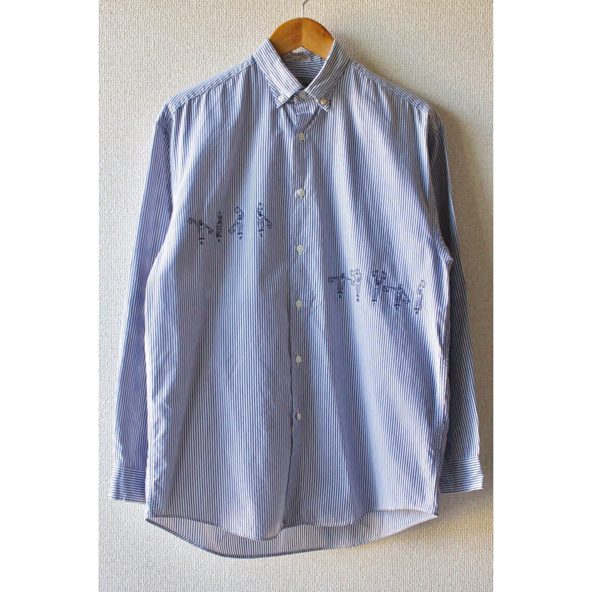 Button down stripe shirt by Paul Smith