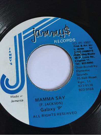 Galaxy P(ギャラクシーピー) - Mamma Say 【7'】