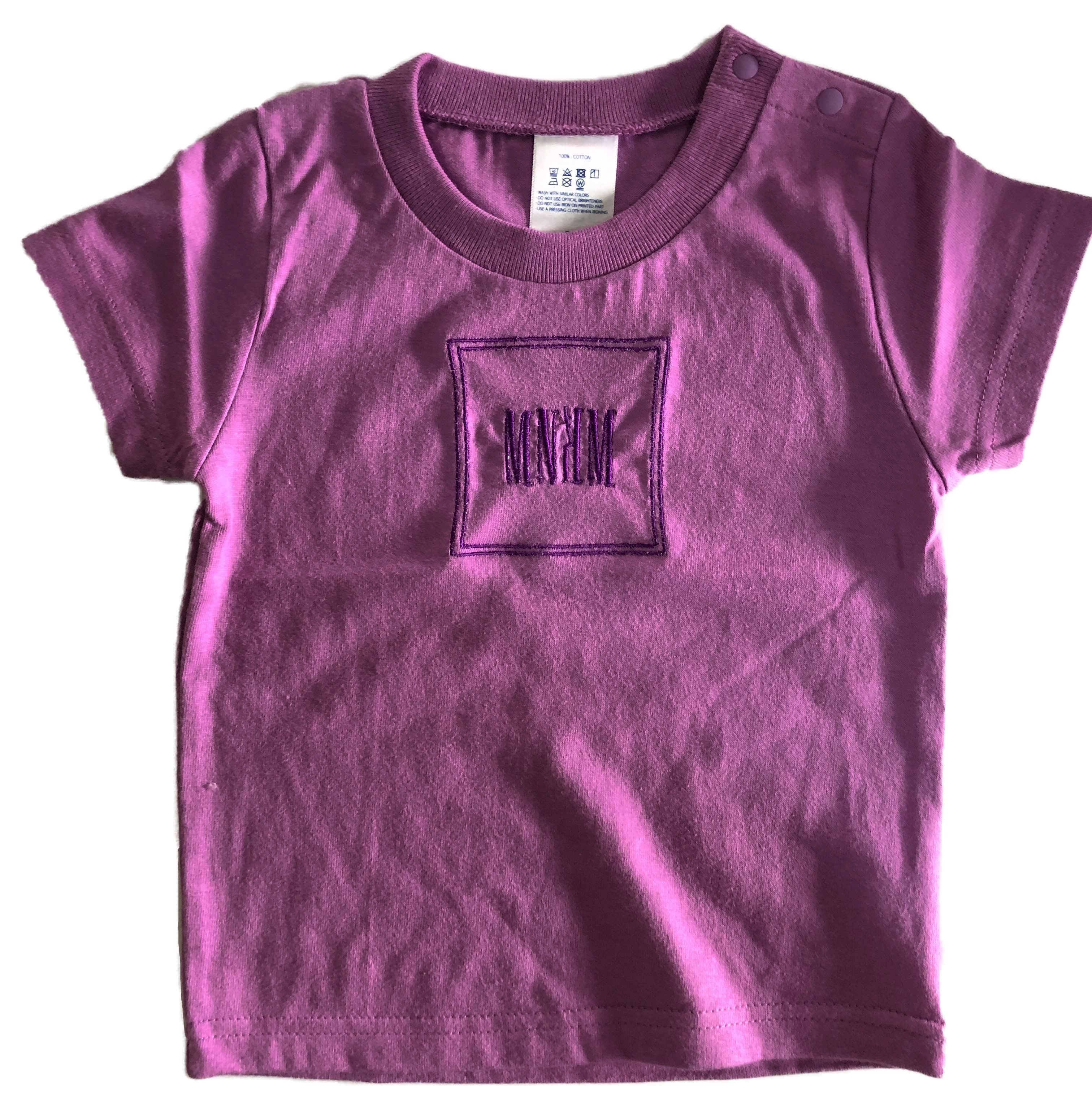 【KIDS】MNKM Embroidery Tee
