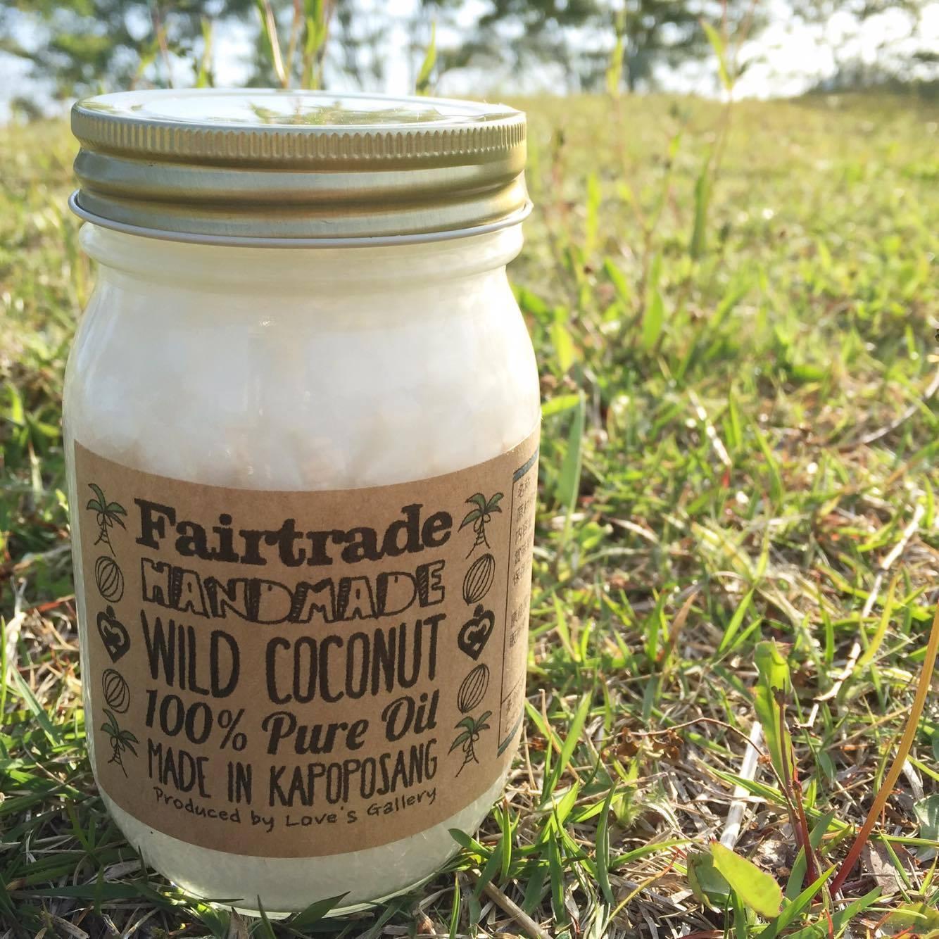 Fair Trade Virgin Coconut Oil big jar 385g