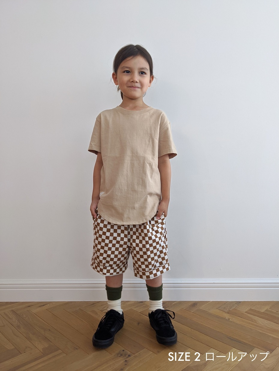 Kids Checkered Short Pants