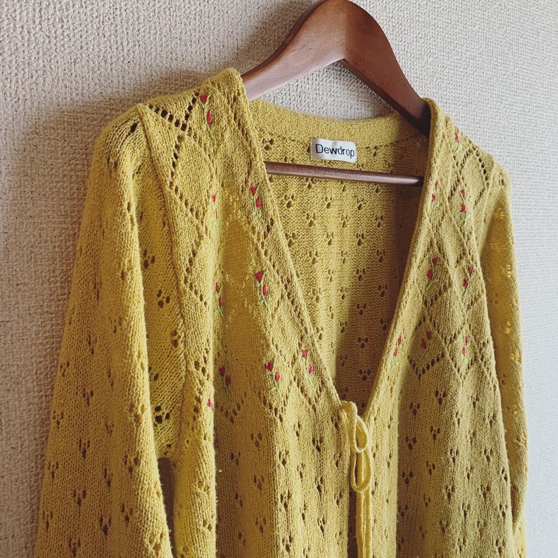 【SALE】vintage cardigan