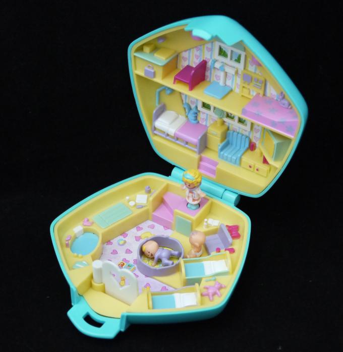 ポーリーポケット ポーリーの保育園 1992年 レア!水色バージョン 完品