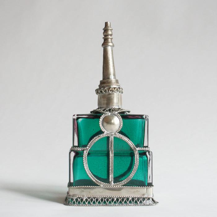 アンティーク調香水瓶/99B1/MOROCCO モロッコ