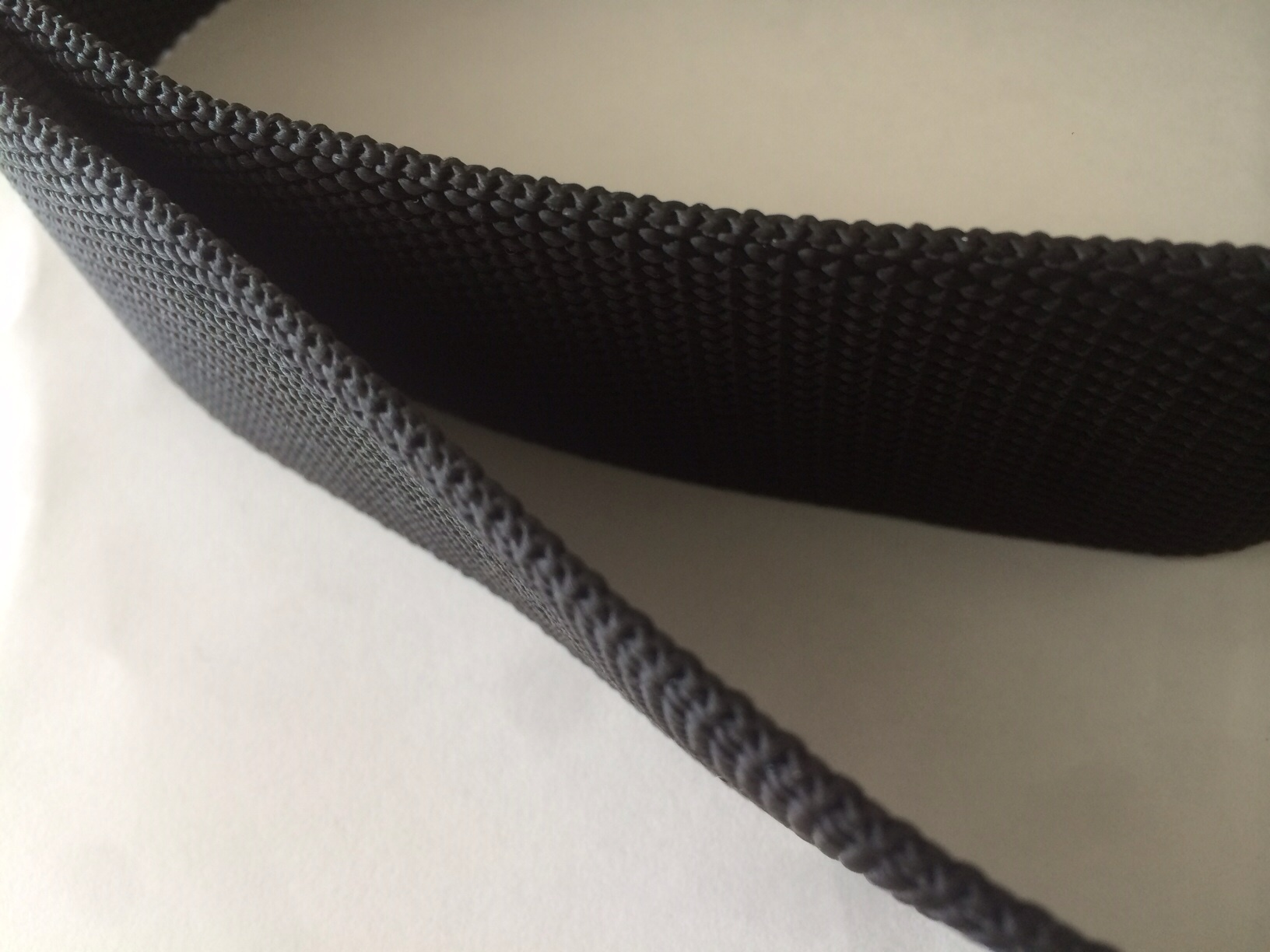 PP 厚手 2.5mm厚 50㎜幅 黒 1m