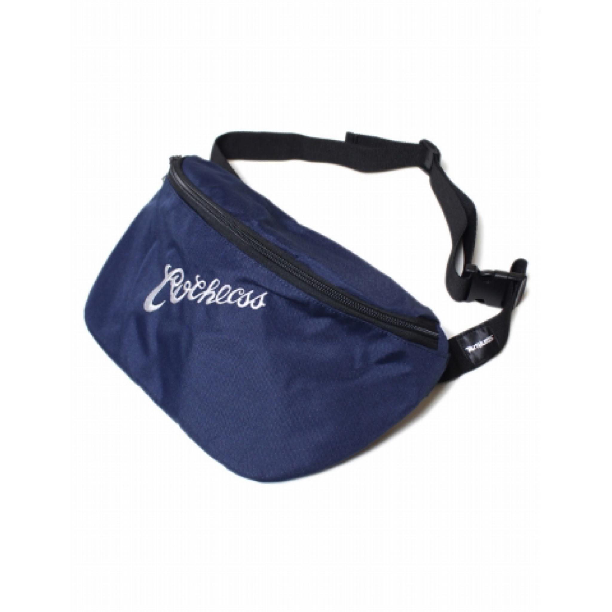 RUTHLESS #Logo Body Bag Navy