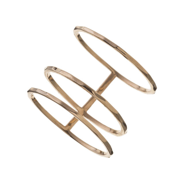 K10 Triple Ring 10金トリプルリング ELR0006G