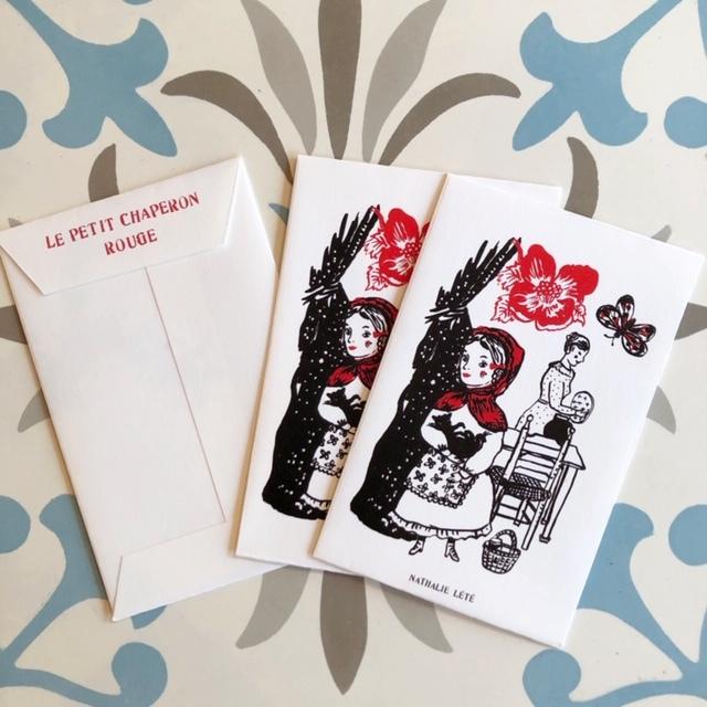 Nathalie Lete ミニ紙袋 (3枚SET) ナタリー・レテ  ポチ袋