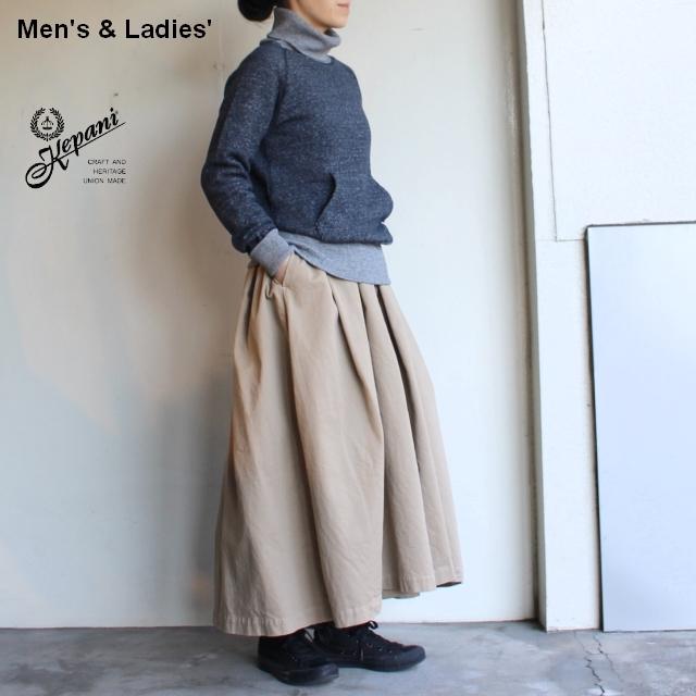 Kepani タートルネックスウェット Manchester-Ⅲ / Turtleneck KP1601MS (D.NAVY) 【Men's / Ladies'】