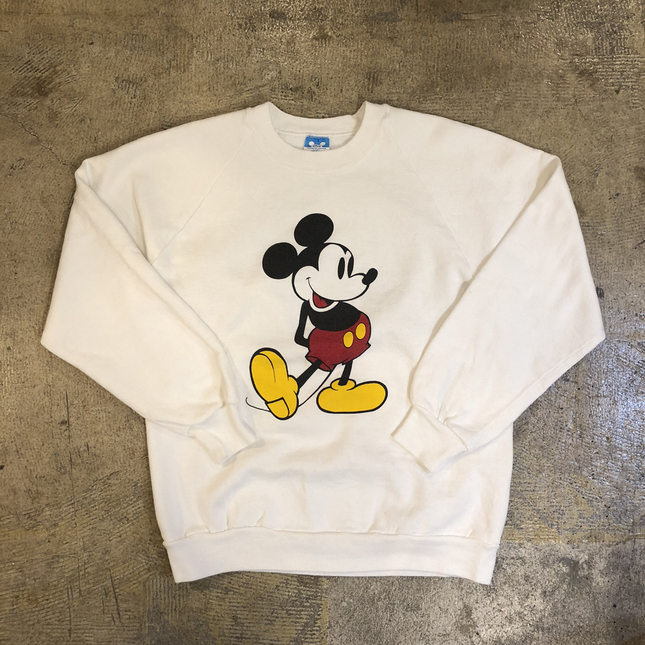 Mickey Mouse Raglan Sweat ¥6,600+tax