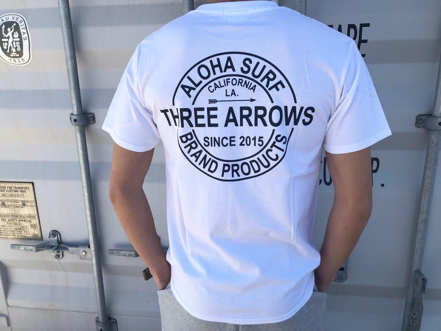 ThreeArrows BP Tシャツ(white)