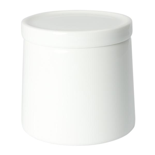 白山陶器 M型シュガーポット 白マット
