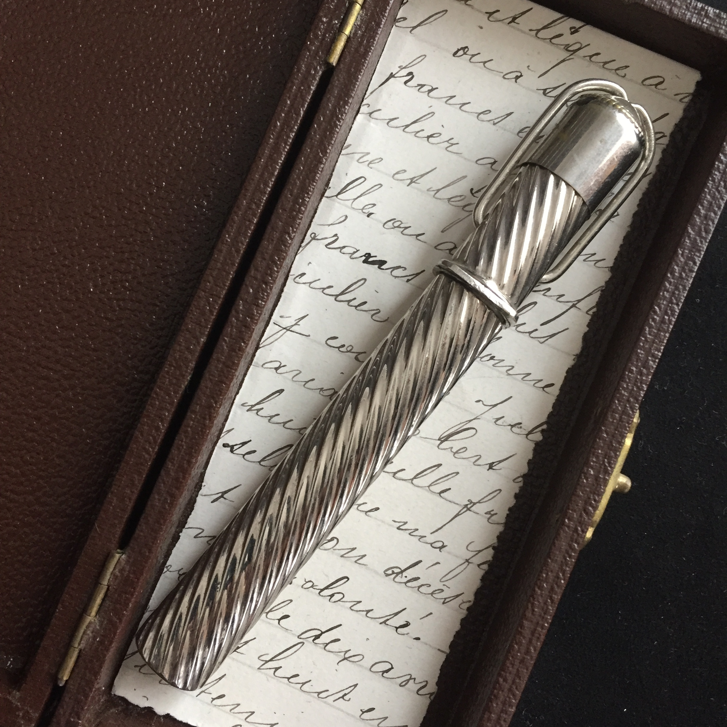 Antique portable calligraphy set