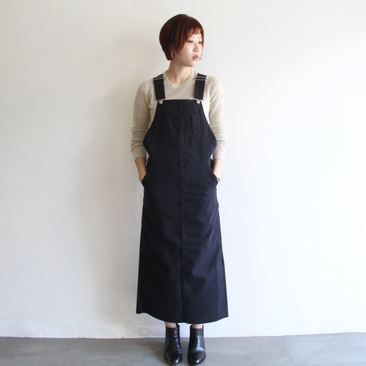 UNION LAUNCH 【 womens 】wool surge overall dress