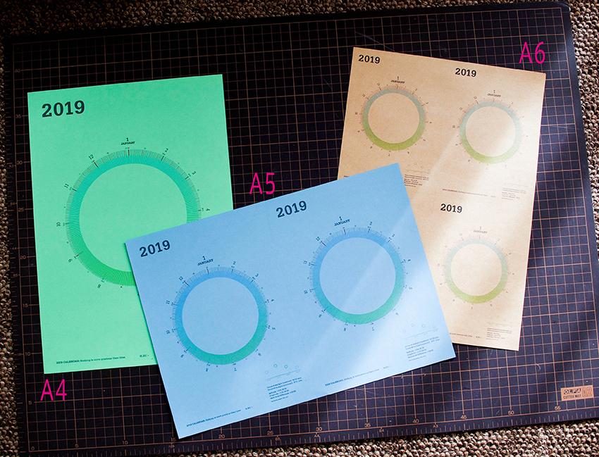 PDFダウンロード[A4・A5・A6セット] 2019 mi e ru サークルカレンダー