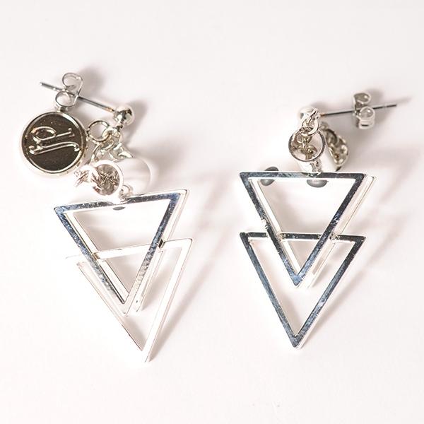 df18SS-J07 TRIANGLE PARTS PIERCE(silver)