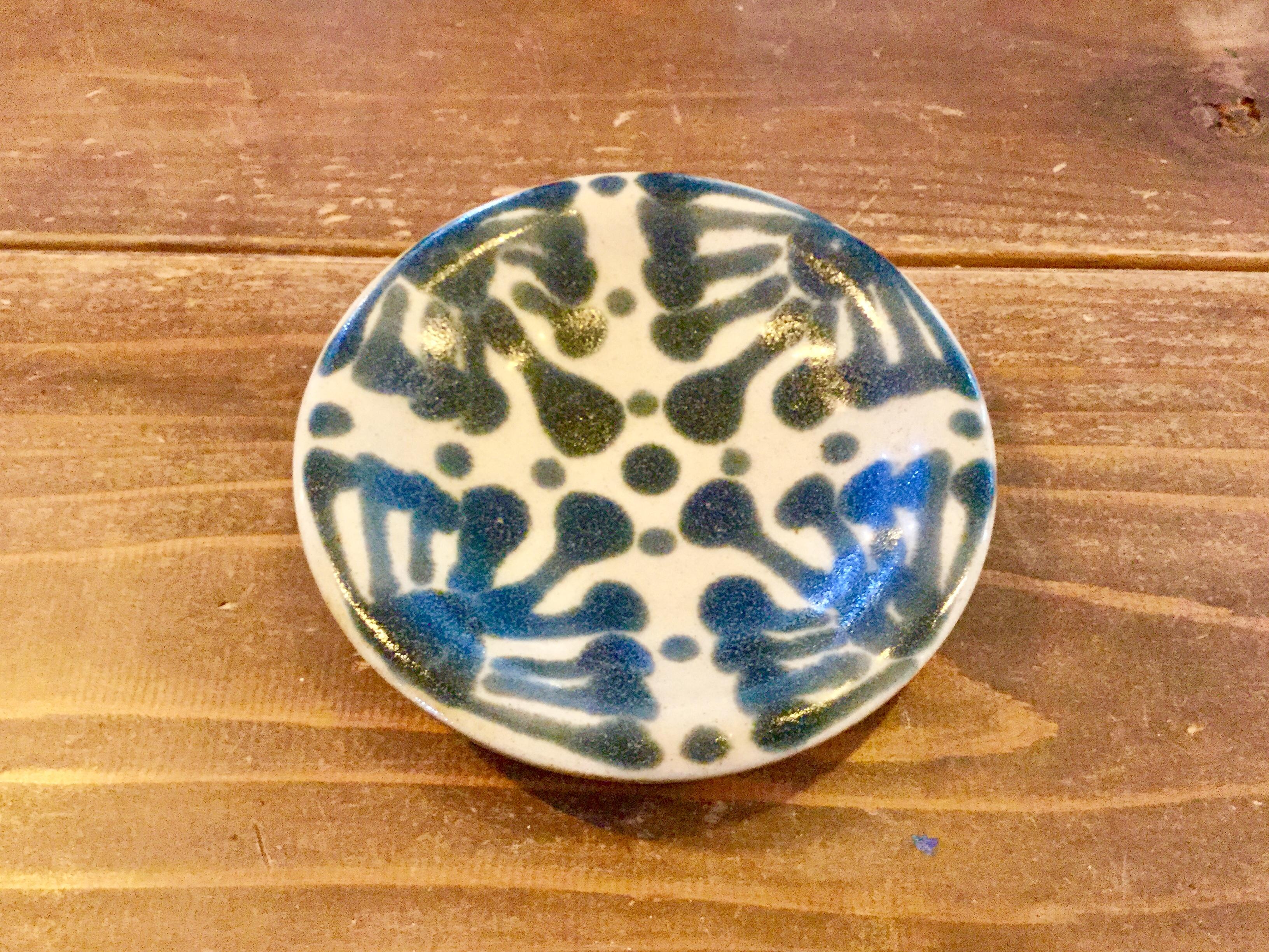 皿4寸 ゴス ノモ陶器製作所