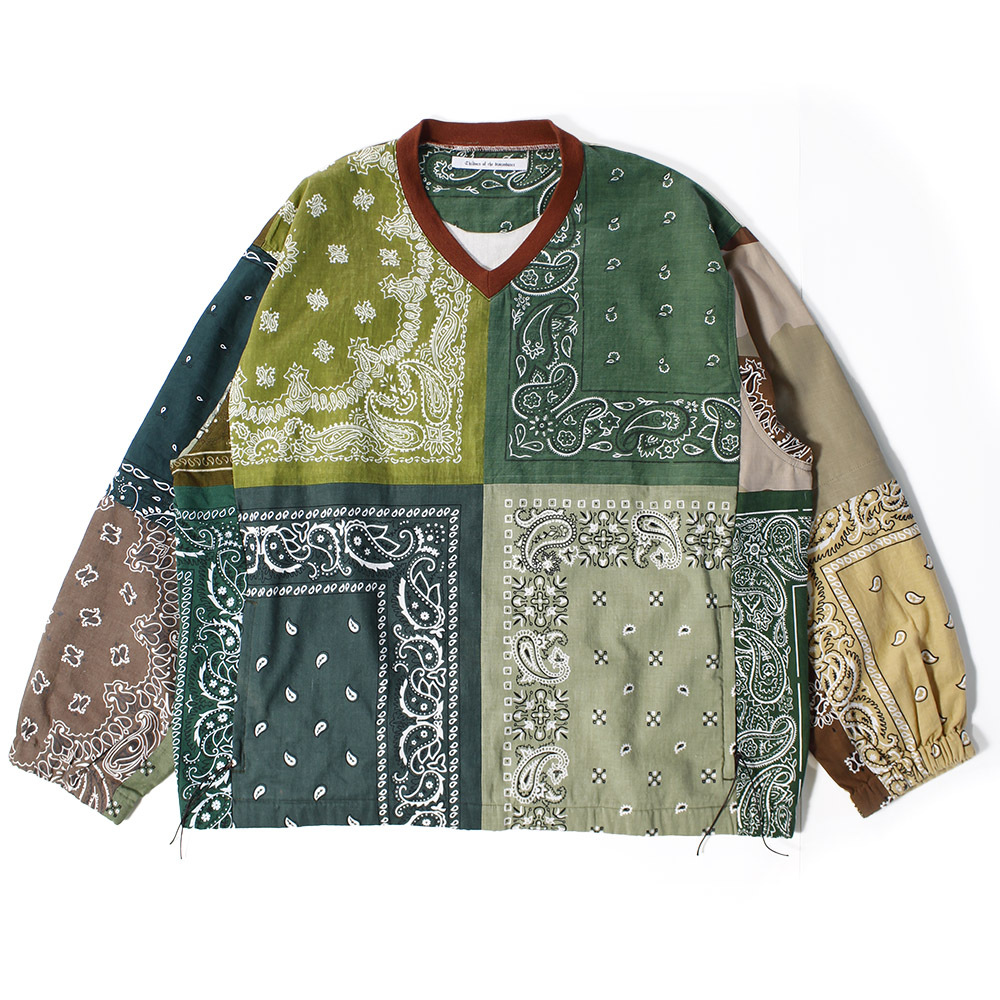 CHILDREN OF THE DISCORDANCE Bandana Pullover Tops Khaki