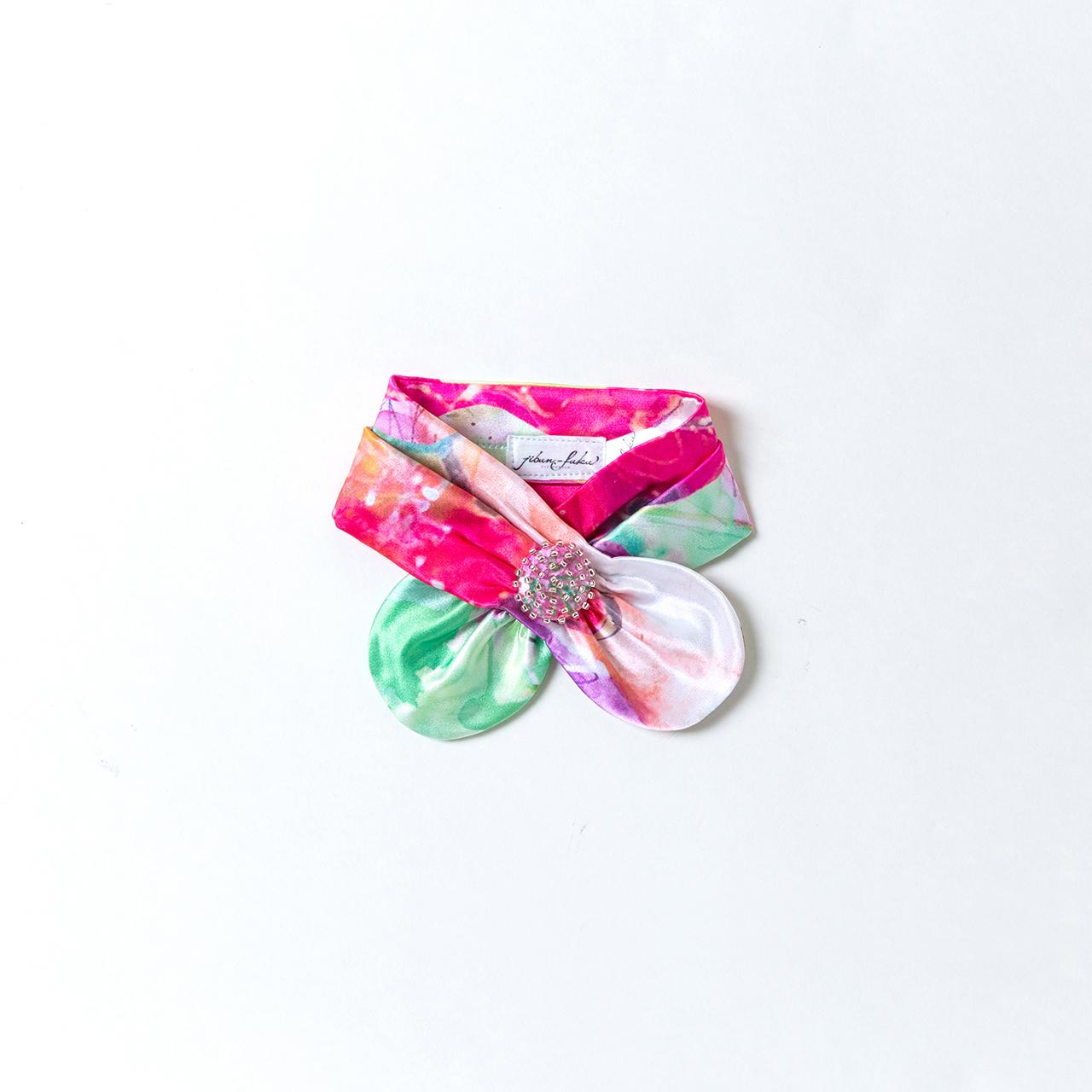 jibun-fuku DOG 【リボンカラー beads】 DOGRB201839