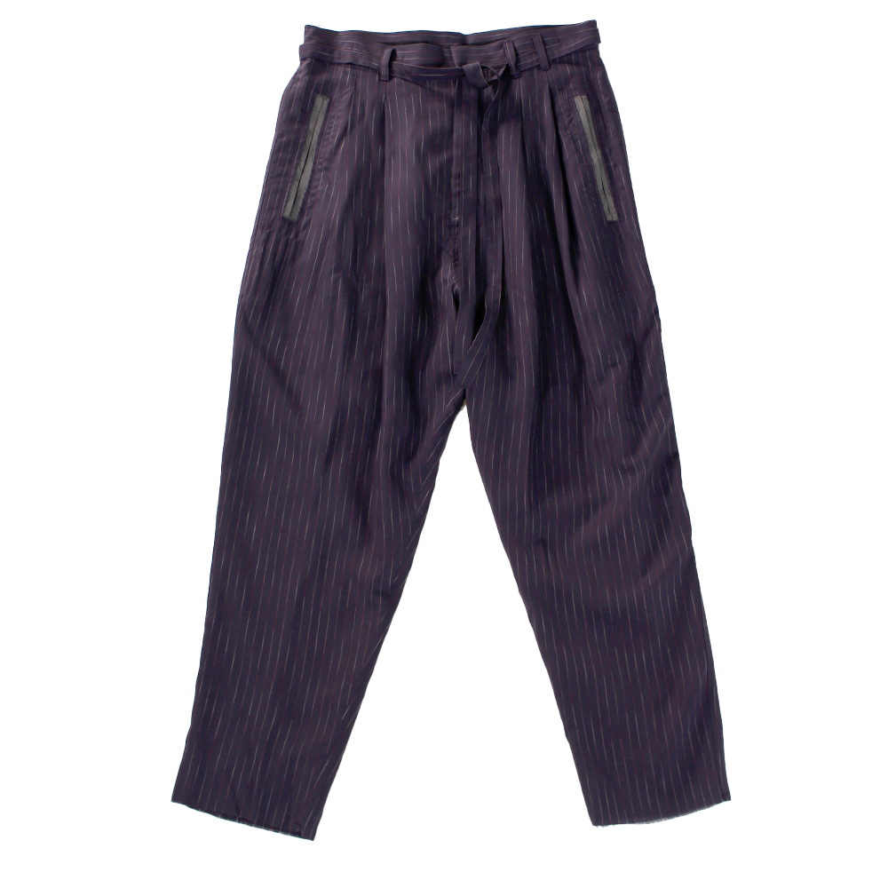 BED J.W. FORD Stripe Pants Purple